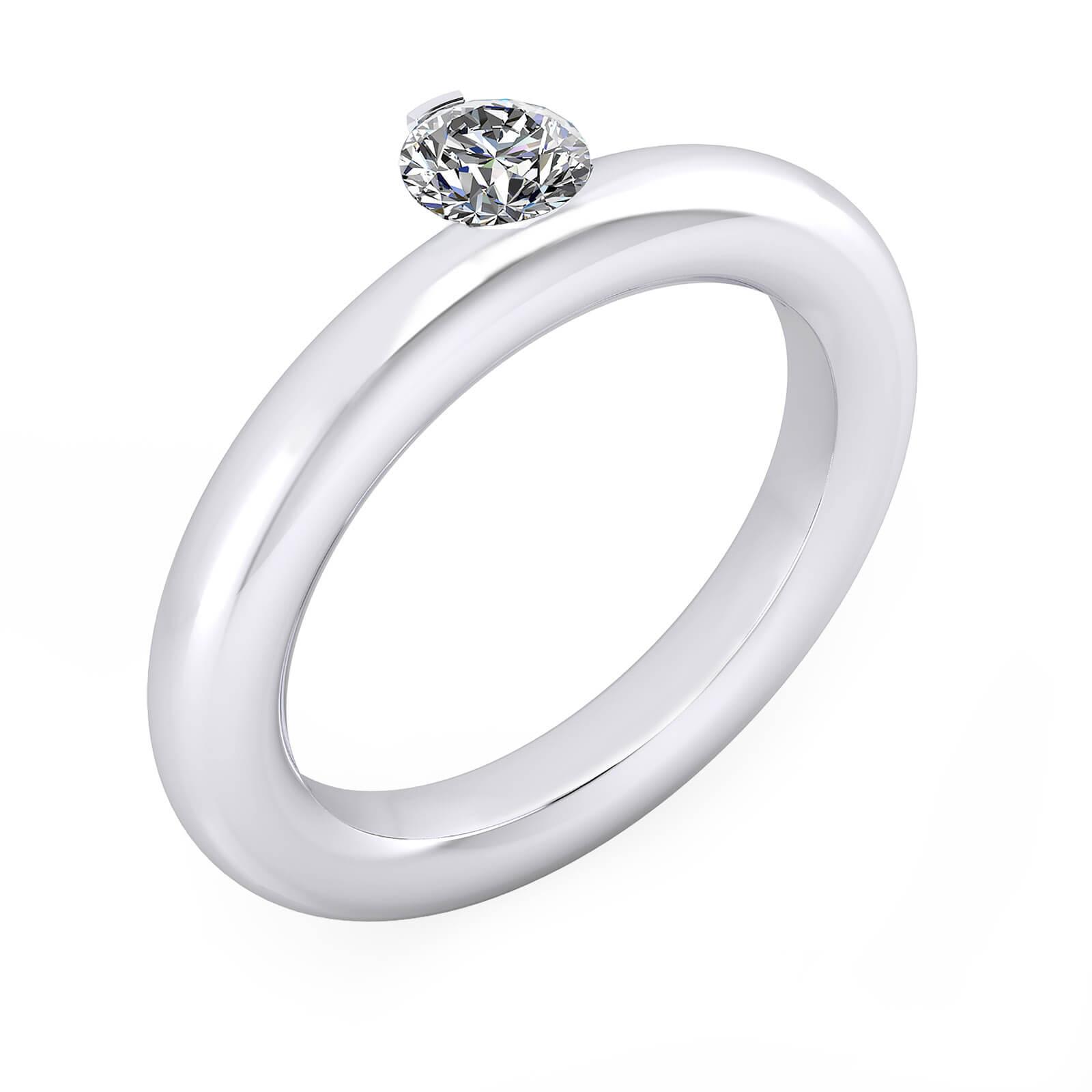 Fotos de anillos de compromiso en oro 36