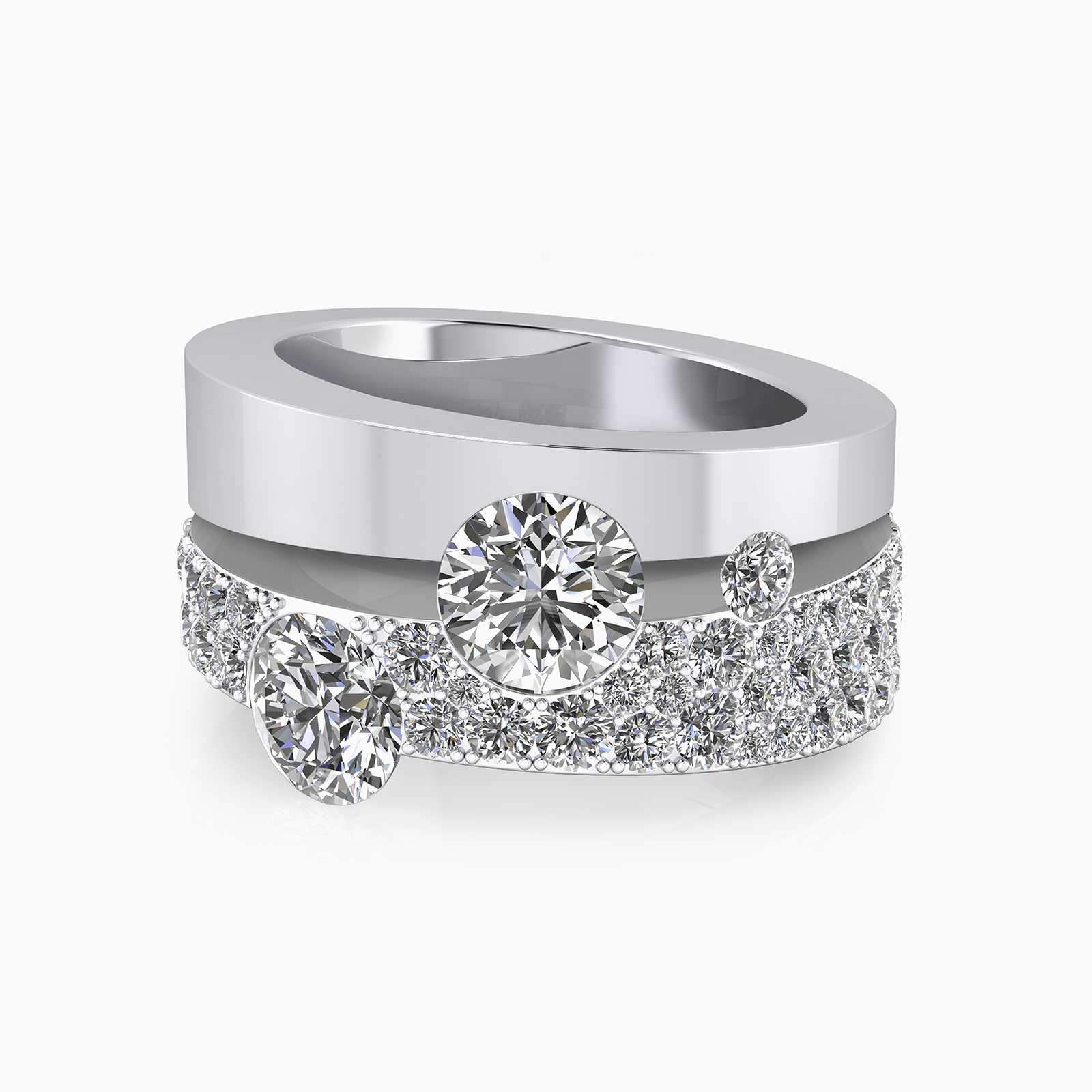 Anell seleccionat per la promoció d'anells de compromís de Clemència Peris, en la campanya de nadal pel dia d'acció de gràcies