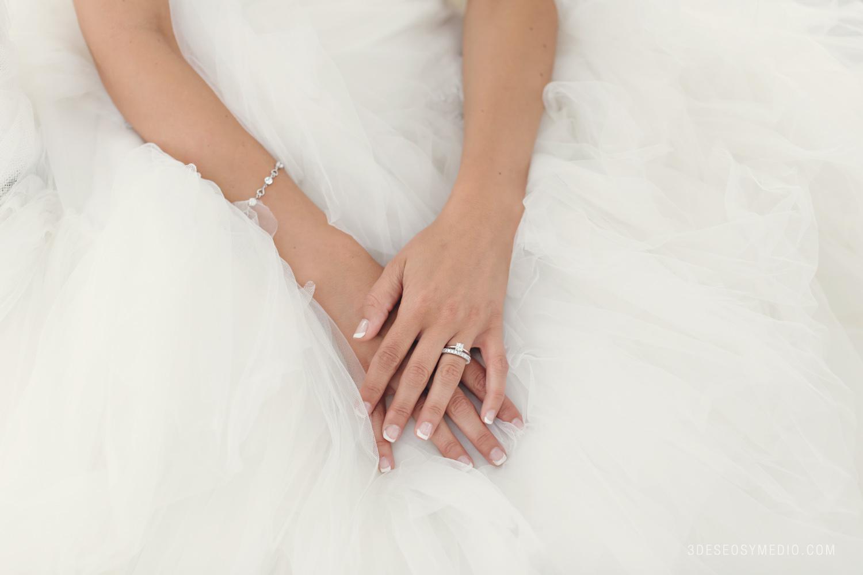Porque los hombres no llevan anillo de compromiso