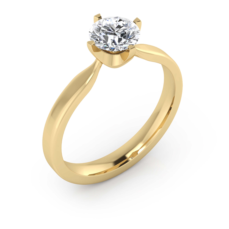 Fotos de anillos de compromiso en oro 10
