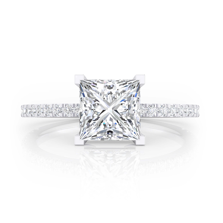 Como limpiar anillo de oro blanco con diamantes