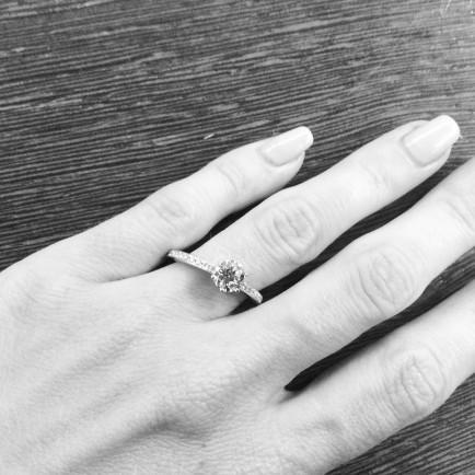 gasto medio en anillos de compromiso