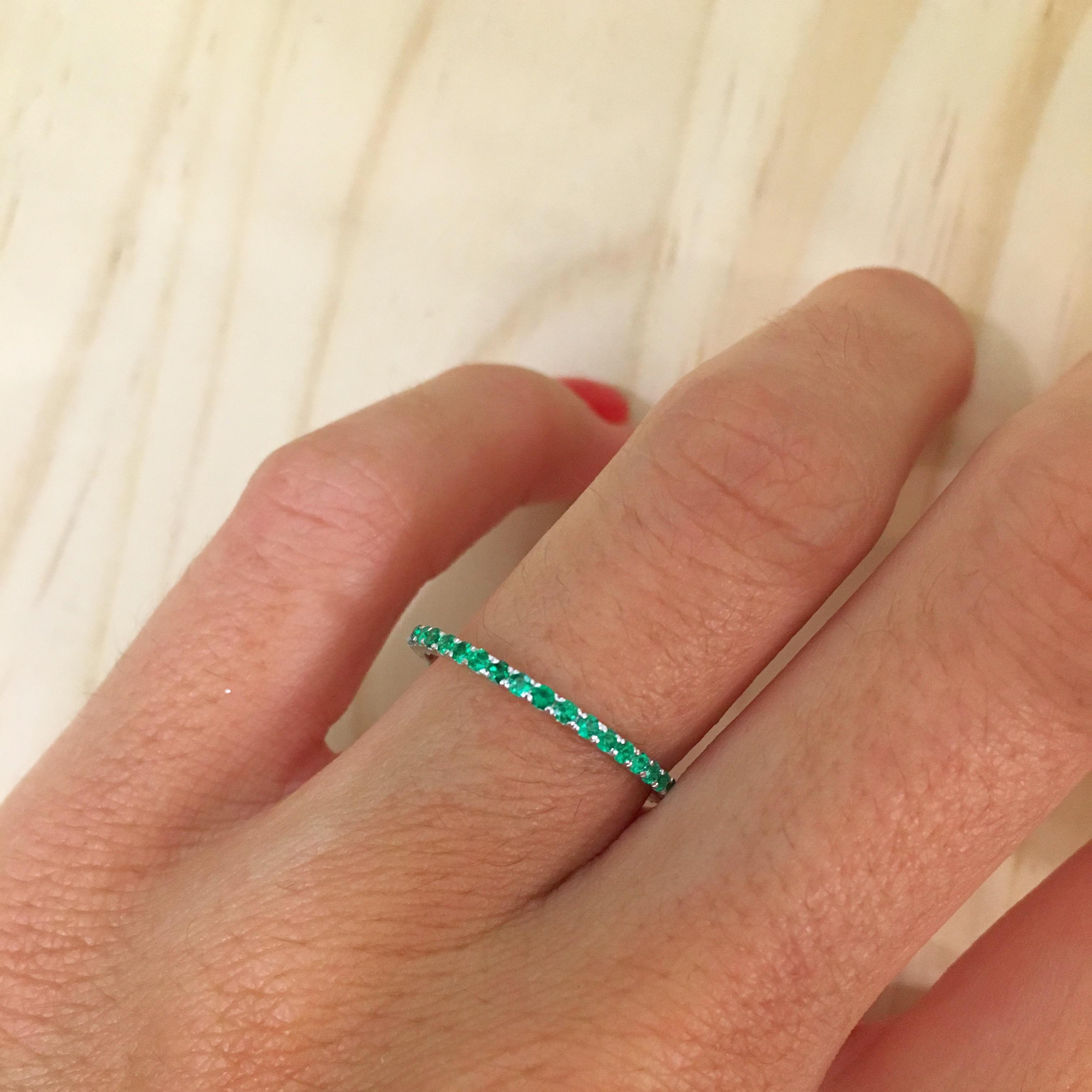Significado de la esmeralda en el anillo de compromiso