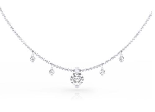 collares de diamantes