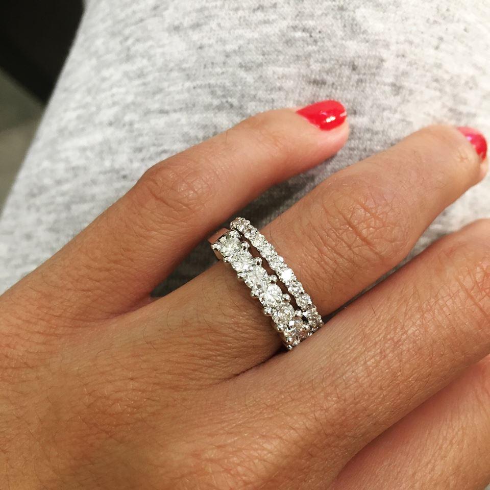 elegir un anillo de compromiso
