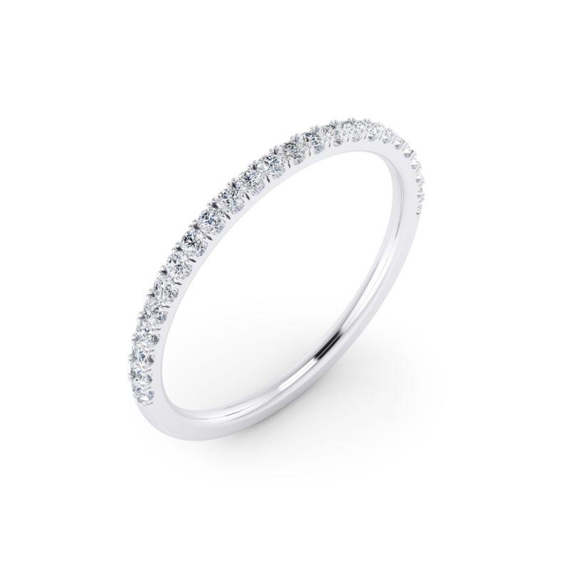 alianzas de matrimonio con diamantes