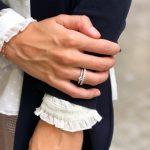 anillos de compromiso solitarios