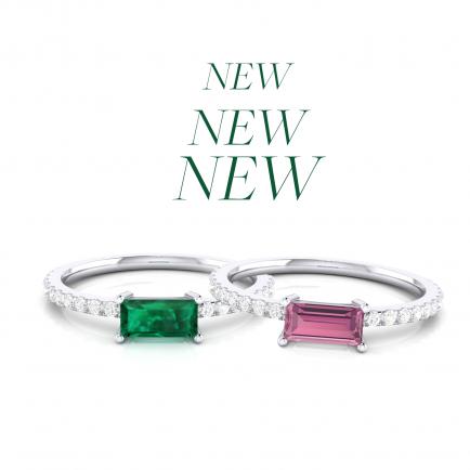 anillos con piedras preciosas