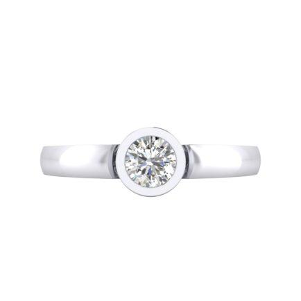 anillos de compromiso modernos
