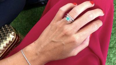 Anillos de esmeraldas con diamantes: belleza natural