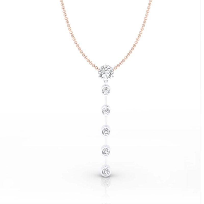 colgantes de oro y diamantes