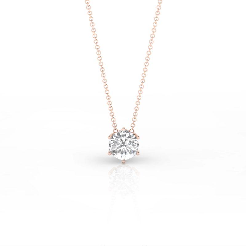 collares de oro y diamantes