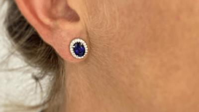 Algo azul para las novias: joyas con piedras preciosas