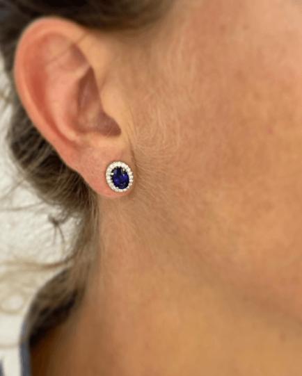 joyas azules para novia