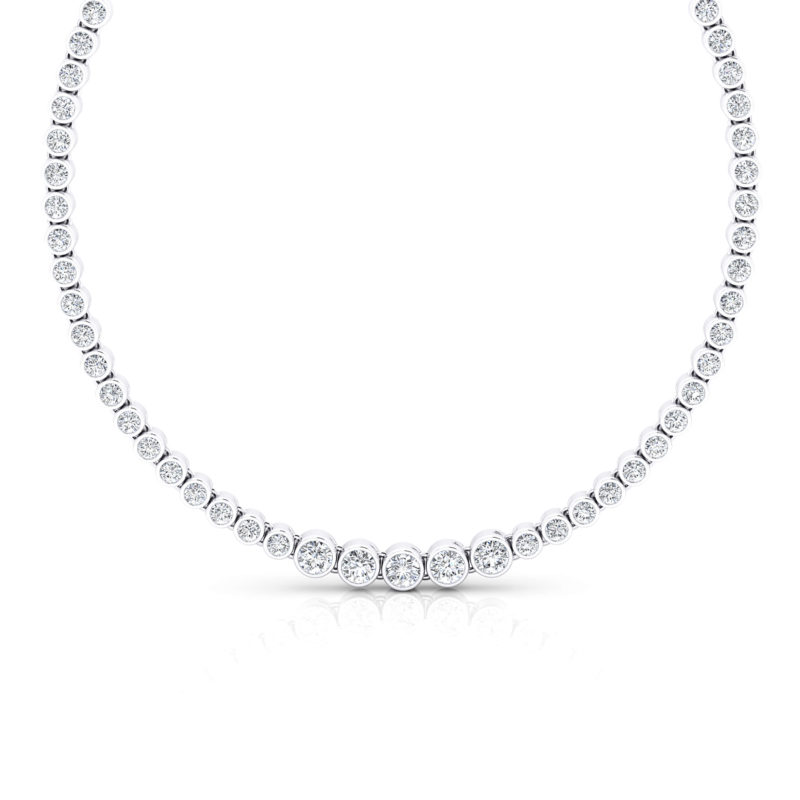 collar rivire de diamantes