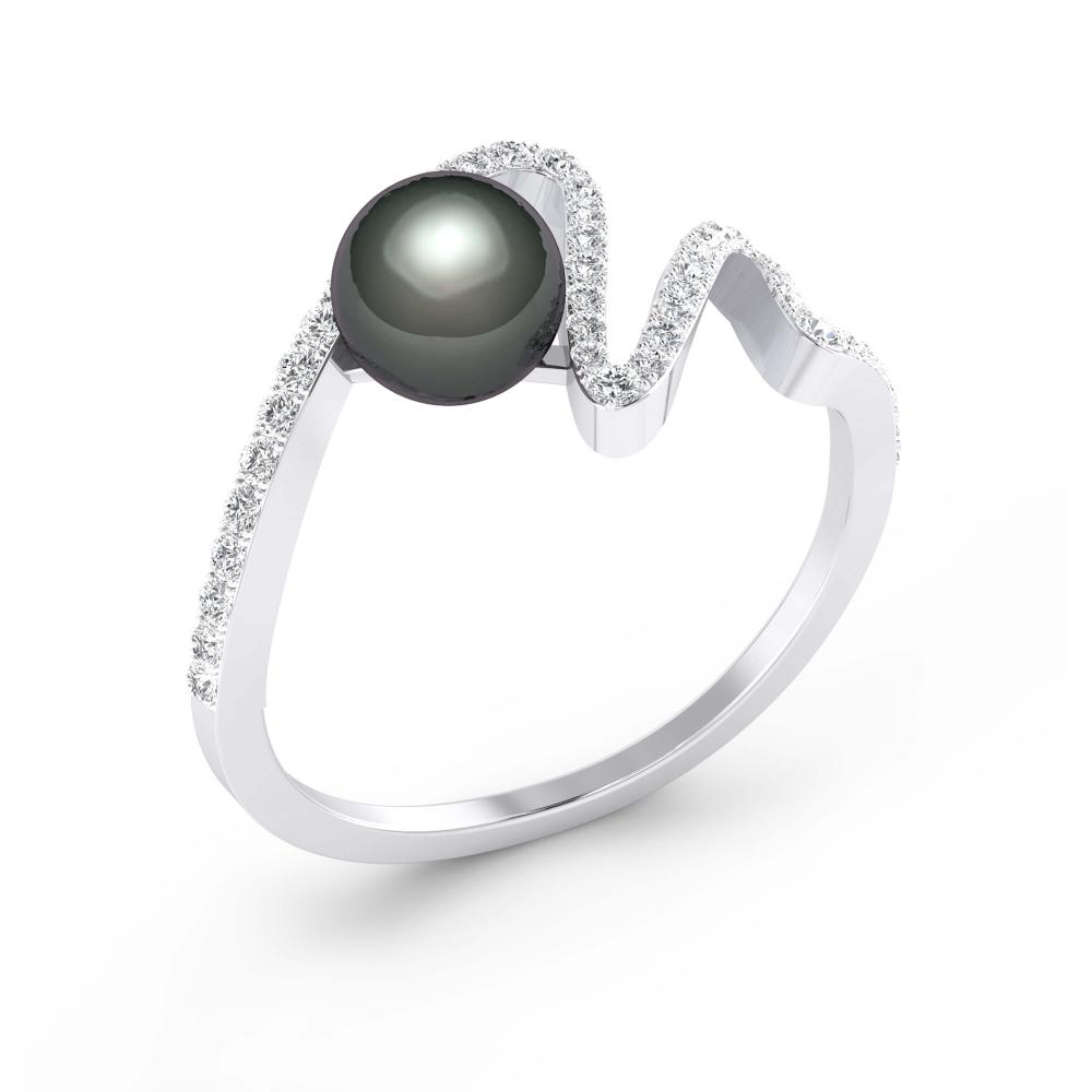 Anell de Diamants or blanc 18k amb 58 diamants