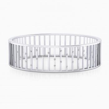 Bracelets 18k white gold with 32 brilliant cut diamond