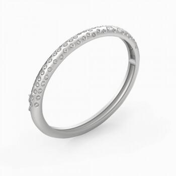 Bracelets 18k white gold with 80 diamonds