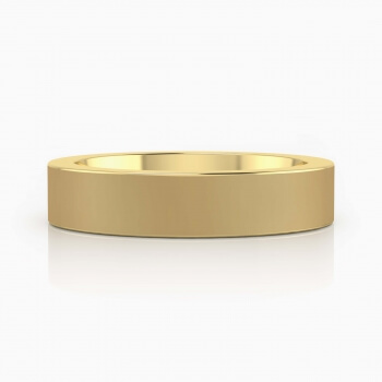 Men's Wedding Ring 18k yellow gold