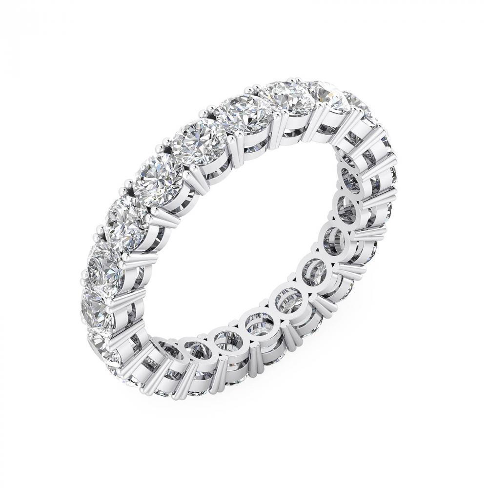foto de perfil de Anillo de Compromiso de oro blanco y diamantes