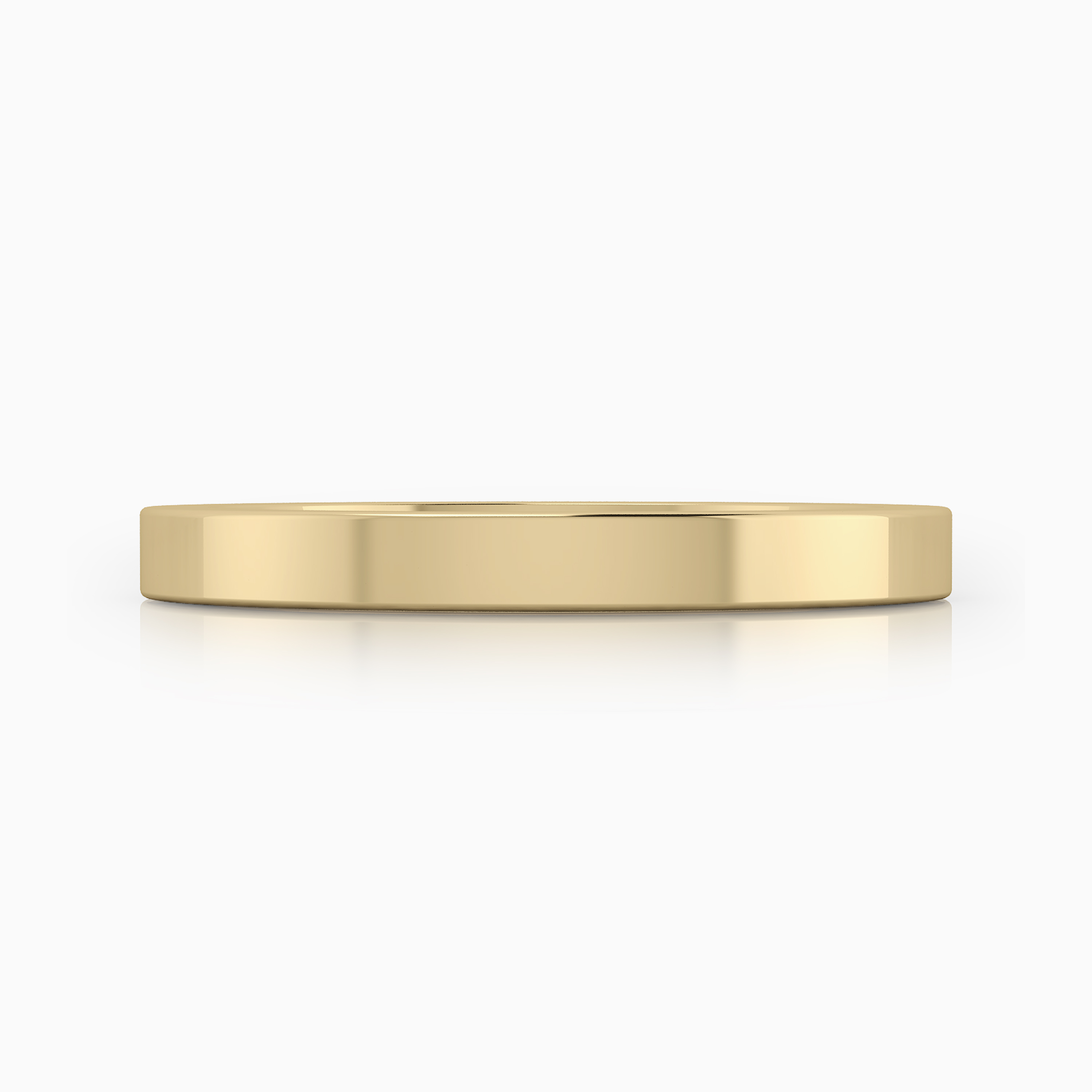 Yellow gold wedding bands in Barcelona