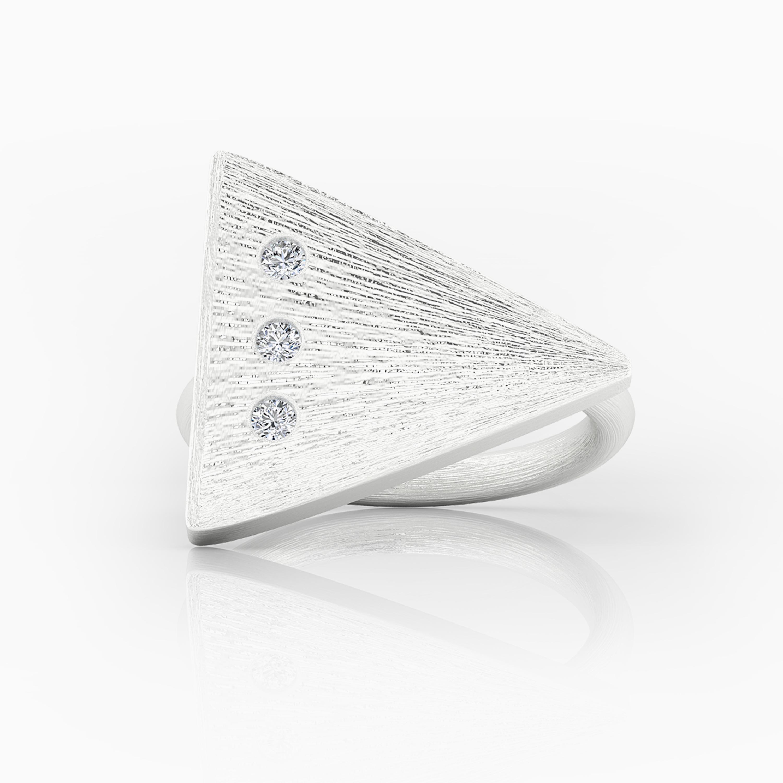 White Gold Engagement Rings in Barcelona