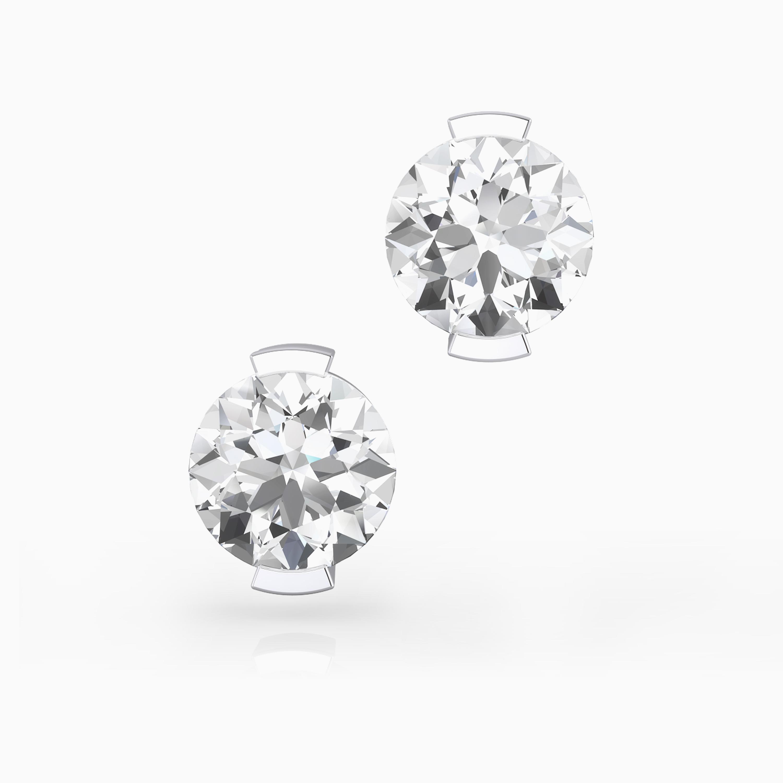 Diamond Earrings in Barcelona