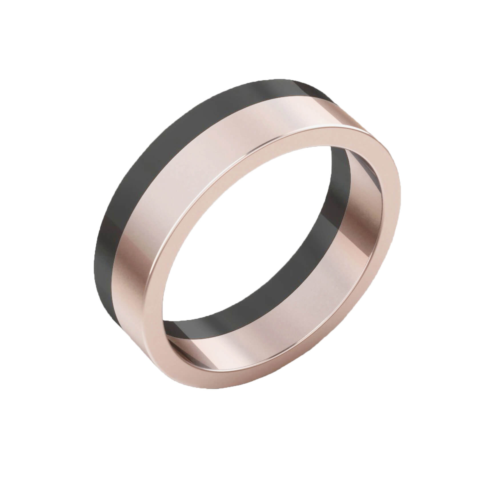 rose wedding fullxfull mens elegant and bands band il ring black gold